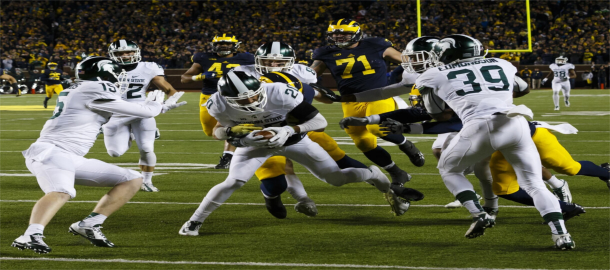 The Latest Beef In The Michigan vs Michigan State Rivalry