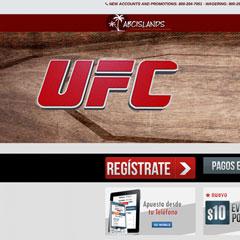 Screenshot of the ABC Islands website.
