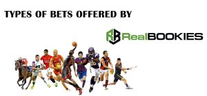 Sports players on a white background and the real bookies logo