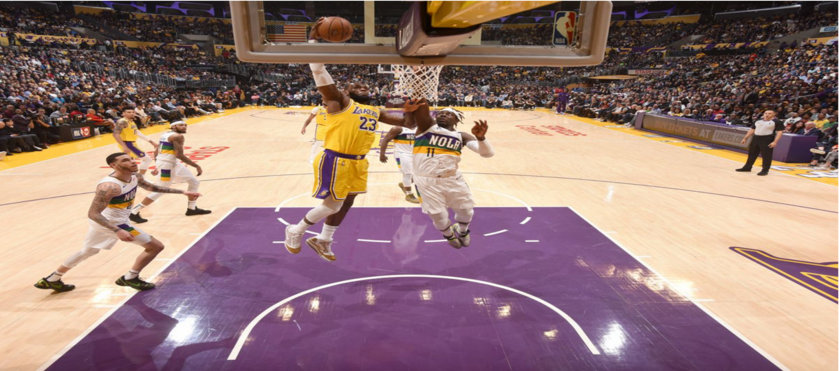 New Orleans Pelicans at Los Angeles Lakers Betting Pick